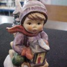 RIDE INTO CHRISTMAS  HUMMEL FIGURINE 396 2/0