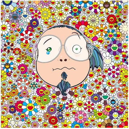 Takashi Murakami Prints Self Portrait