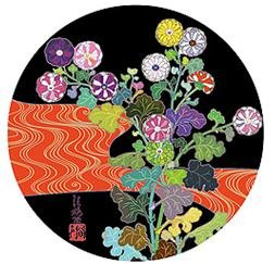Takashi Murakami Prints Korin Red Stream