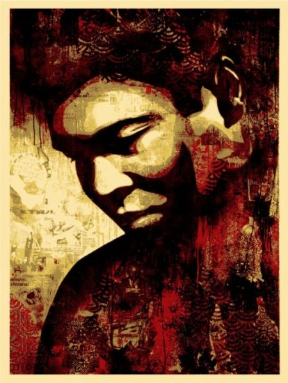 Shepard Fairey Prints Ali