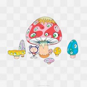 Takashi Murakami Prints Poke Dob Print