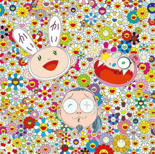 Takashi Murakami Prints For Better or Worse