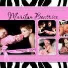 ZEBRA Leopard CHEETAH Animal Print Baby Birth Announcement