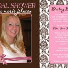 BRIDAL SHOWER INVITATION WEDDING BACHELORETTE PARTY PHOTO