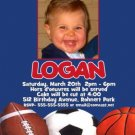 Sports Baseball Football Soccer Birthday Photo Party Invitations MANY DESIGNS!