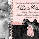 BALLERINA BALLET DANCE Birthday Party Photo Invitation