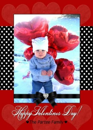 Valentine's Day Valentine Heart Love Personalized Cards Invitations
