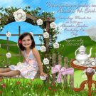 TEA PARTY Garden Photo Birthday Invitation