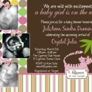 Queen of the Jungle Baby Shower Invitation Ultrasound Party Goods Supplies