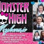 Monster High Birthday Party Invitations