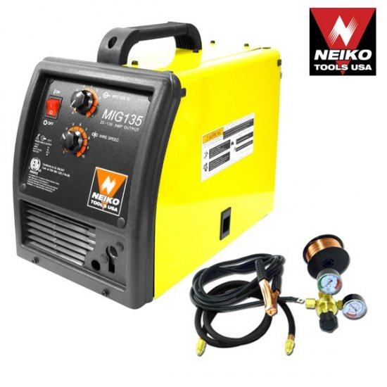 135 Amp Flux/Mig Welder ETL/CETL Certified - Nk # 10907A