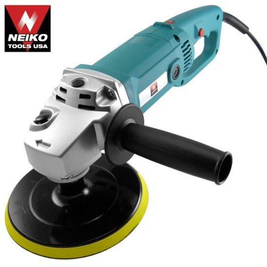 """7"""" Polisher with Velcro Backing Pad - UL/CUL - Nk # 10671A"""