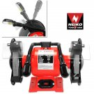 """6"""" Dual Lights Electric Bench Grinder - Nk # 10203A"""