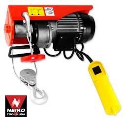 880 Lbs Electric Hoist \ UL - Nk # 02246A