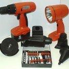 6 In 1 18 Vlt Cordless Tool Kit