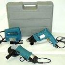 3 Pcs Electric Tool Kit - Drill\Grinder\Jigsaw