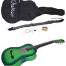 "38"" Green Acoustic Guitar With Accessories - GA3810R-GR"