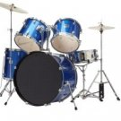 5 Pcs Blue Drum Kit - DRM522-BL
