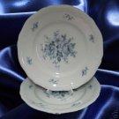 Johann Haviland Chippendale ROSAMONDE 2 Salad Plates NR