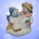 CHERISHED TEDDIES LET IT SNOW FROSTY AURORA 706884 NIB