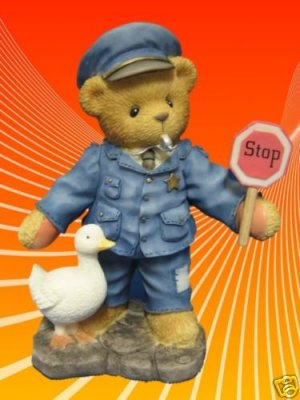 CHERISHED TEDDIES KENT OFFICER WARRANT FOR YOUR HEART