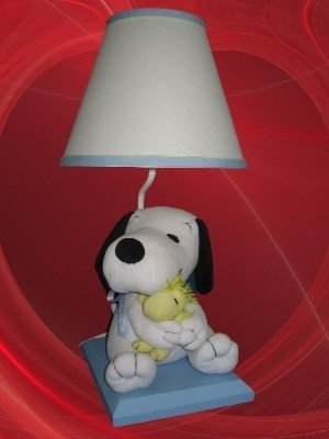 LAMBS IVY PEANUTS MY LITTLE SNOOPY BABY NURSERY LAMP