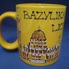 BAZYLIKA LICHEN POLISH CHURCH POLAND MUG CUP HAND PAINT