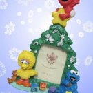 BABY ELMO BIG BIRD COOKIE MONSTER CHRISTMAS PHOTO FRAME