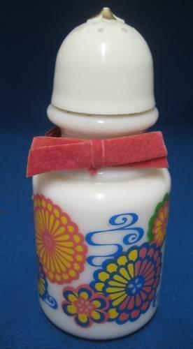 Avon HAWAIIAN WHITE GINGER Bath Oil Bottle Vtg Empty