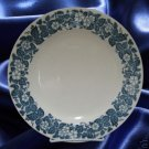 ROYAL CHINA OLD ENGLISH BLUE 2 BREAD BUTTER PLATES