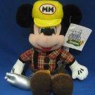 Disneyland Construction Mickey Beanbag Plush Souvenir