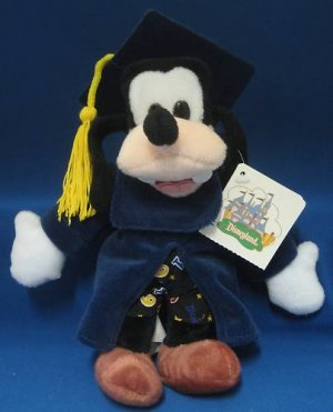 Disneyland Grad Night Goofy 1999 Plush Souvenir MWT