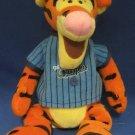 Disney Baseball Tigger Beanbag Plush Bee Stompers Rare