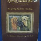 COUNTED CROSS STITCH NEEDLEPOINT LAB RETRIEVERS PATTERN