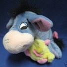 DISNEY EEYORE WITH YELLOW CHICK PLUSH FISHER PRICE CUTE