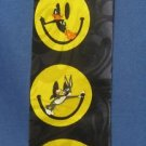 Looney Tunes Characters Smiley Faces Silk Necktie Tie