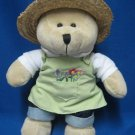 STARBUCKS BEARISTA BEAR 47 SPRING 2006 GARDENING TEDDY