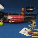 DACHSHUND HOT DIGGITY BBQ WEINER DOG FIRUGINE DOXIE NIB