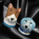 Puppy Dogs DOGZILLA Salt Pepper Shakers Figural NEW MIB