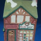 Christmas Village Toy Shop Lighted Building Rex Lee VGC