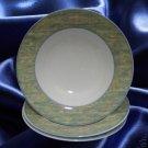 SANGO DAISY HILL 3046 DINNERWARE 3 SOUP PASTA BOWLS NEW