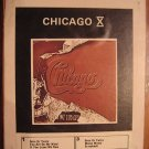 Chicago X Vintage 8 Track Tape Open As Is 1976 Music