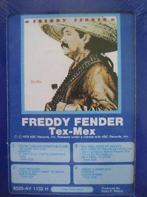 Freddy Fender Tex Mex 8 Track Tape NOS Sealed 1979