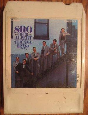 Herb Alpert Tijuana Brass SRO 8 Track Tape Open As Is