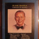 Portrait of Frank Sinatra 8 Track Tape Open As Is Vtg