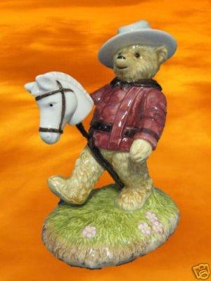 BIALOSKY BEAR ANDREW CANADIAN MOUNTIES TEDDY FIGURINE
