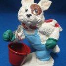 Jack Russel Terrier Snow Dog Figurine Enesco Kathy Wise