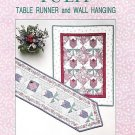 TULIP TABLE RUNNERS WALLHANINGS QUILT QUILTING PATTERN