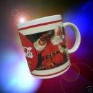 COCA COLA COKE ADVERTISTING SANTA CHRISTMAS MUG CUP