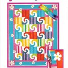 GROOVY KIND OF THING CHENILLE DAISY QUILT PATTERN NEW